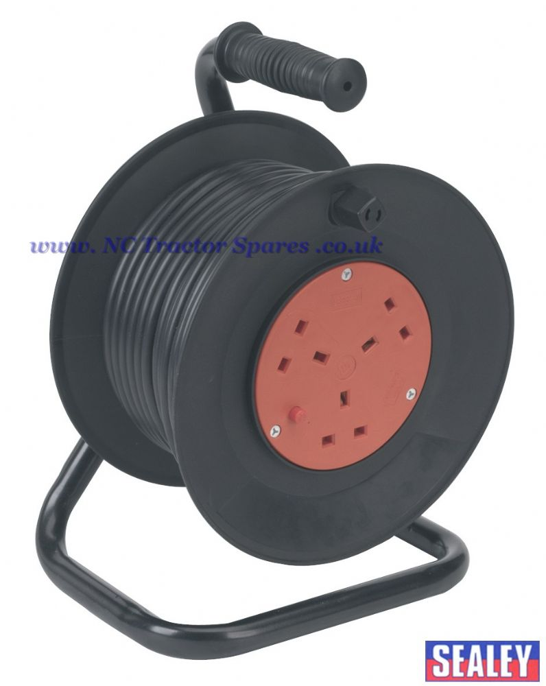 Cable Reel 25mtr 3 x 230V Thermal Trip